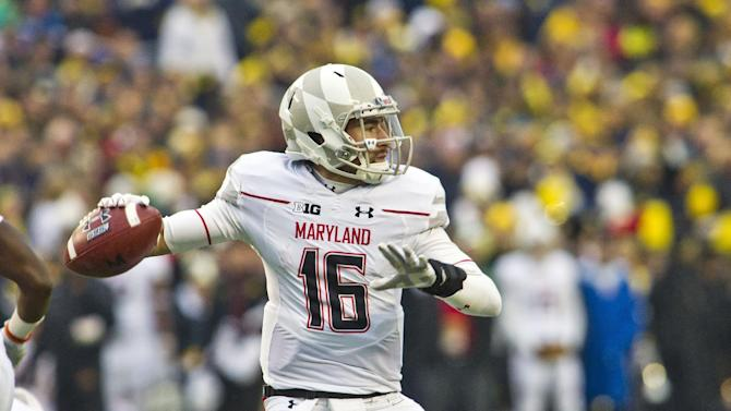 Maryland QB Brown pumped for emotional home finale