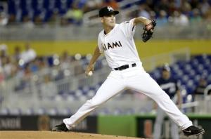 Stanton homers, gives Marlins win over Brewers