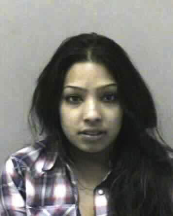"This image provided by the West Virginia Regional Jail & Correctional Facility Authority shows the booking photo of, Salwa Amin, a cast member of the MTV reality show ""BUCKWILD.""    Amin is being held at the Central Regional Jail in Flatwoods W.Va. on a felony charge of possession with intent to deliver.  (AP Photo/Virginia Regional Jail & Correctional Facility Authority)"