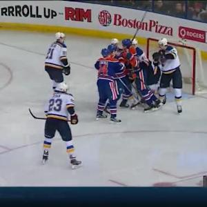 Brian Elliott Save on Jordan Eberle (04:18/2nd)