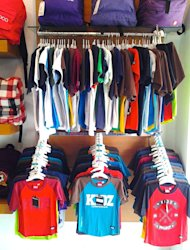 Bandung's clothing lines and 'distros' for children