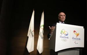 President of Brazil's Olympic Committee Nuzman attends a conference on the budget for the Rio 2016 Olympic and Paralympic Games in Rio de Janeiro