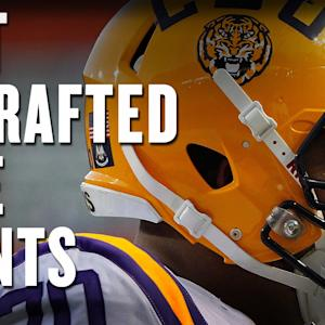 Best undrafted NFL free agents
