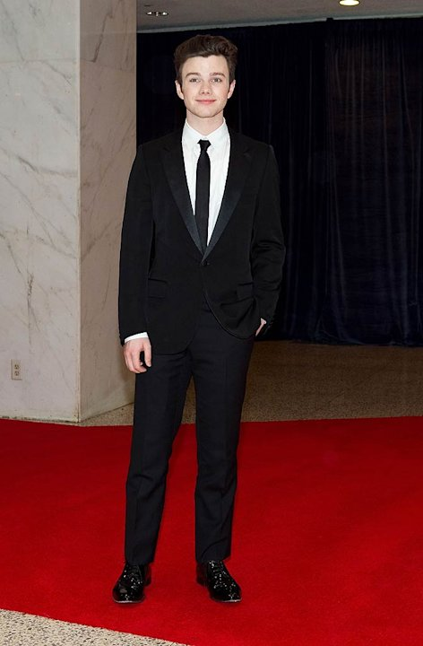 Chris Colfer White House Dnner