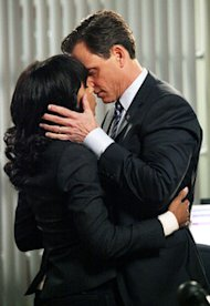 Kerry Washington and Tony Goldwyn | Photo Credits: Richard Cartwright/ABC