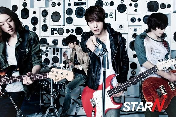 CN Blue sold out 40,000 albums