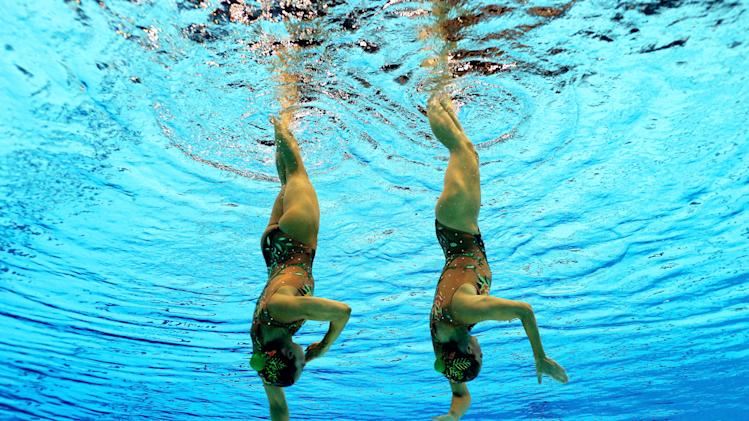 Olympics Day 10 - Synchronised Swimming