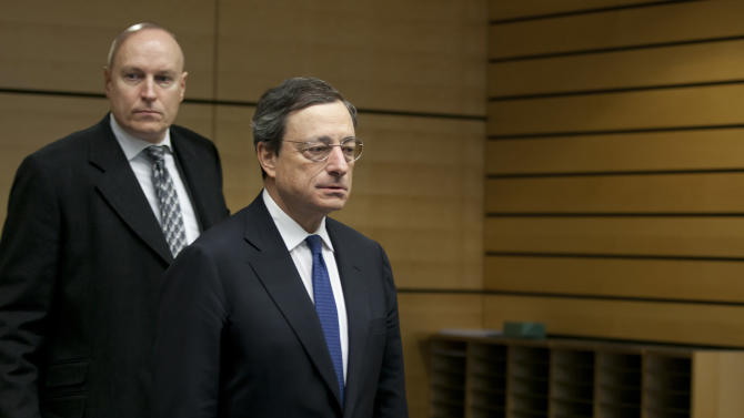 "ECB: Crisis eases, ""no room for complacency"""