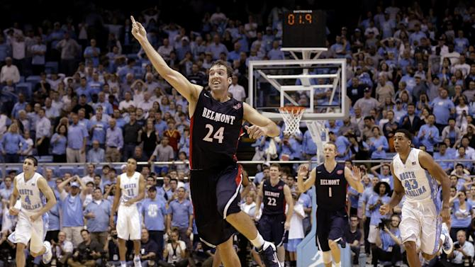 Belmont stuns No. 12 North Carolina 83-80