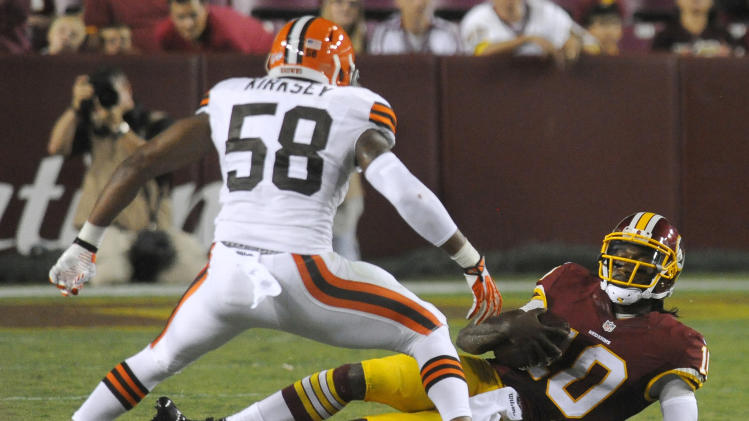 RG3's ungraceful slide remains hot Redskins topic
