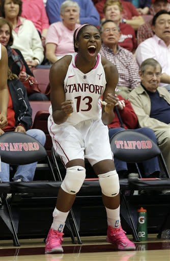 No. 4 Stanford women beat Arizona State 69-45