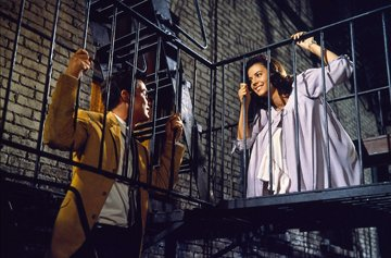 Richard Beymer and Natalie Wood in United Artists' West Side Story