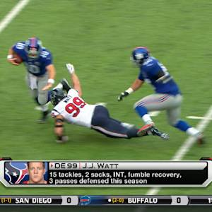 Dallas Cowboys preparing for Houston Texans defensive end J.J. Watt