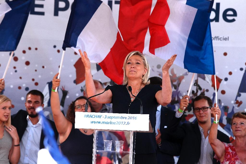 Le Pen follows Trump's lead on social media bombardment