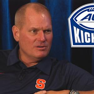 Syracuse's Scott Shafer Talks #44 | #ACCkickoff