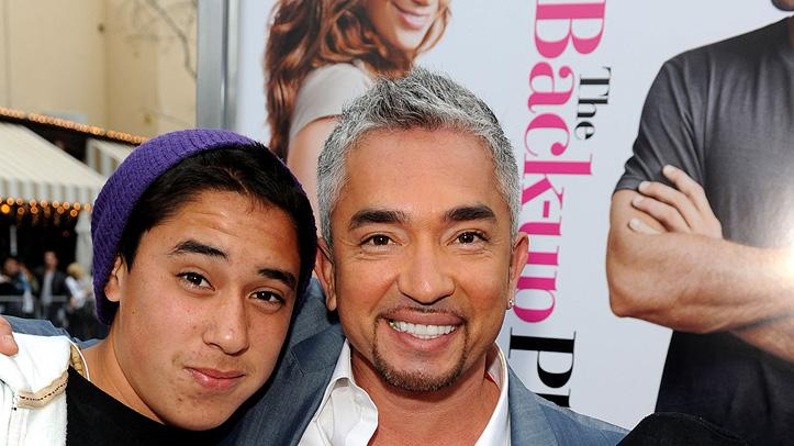 The Back up Plan LA premiere 2010 Cesar Millan