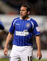 Paul Jewell might not risk starting Michael Chopra, pictured, against his old side Cardiff