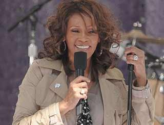 pst Whitney HoustonGMA