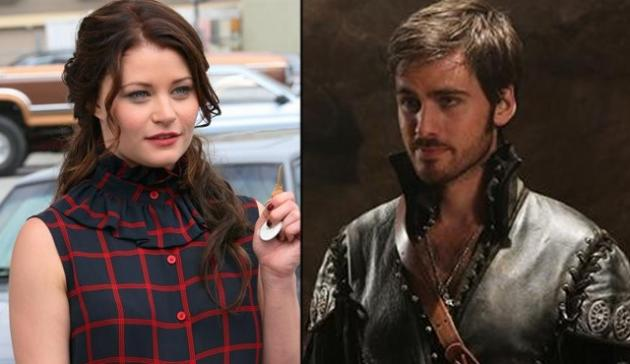 Emilie de Ravin and Colin O'Donoghue -- ABC
