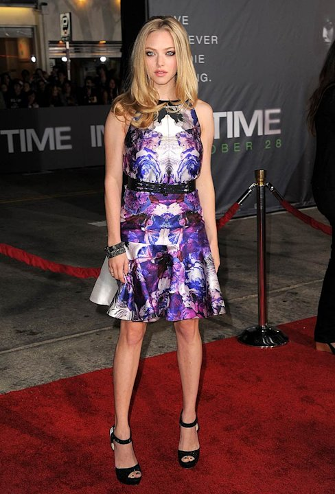 Amanda Seyfried In Time Premiere