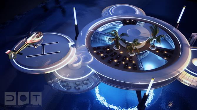 Dubai underwater hotel Drydocks World