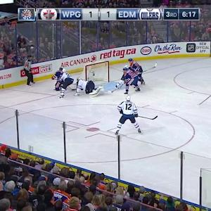 Pavelec's great stick save