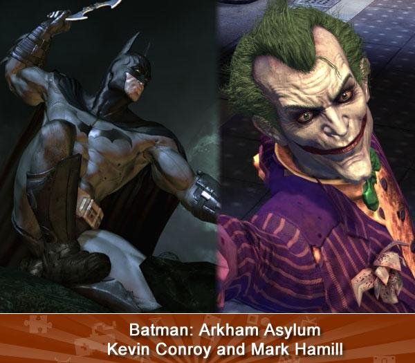 Batman: Arkham Asylum -- Kevin Conroy and Mark Hamill