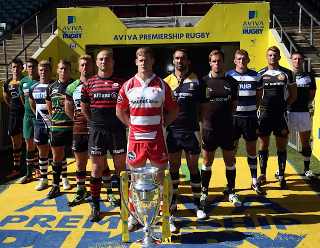 Rugby Union - Aviva Premiership Launch - Twickenham Stadium