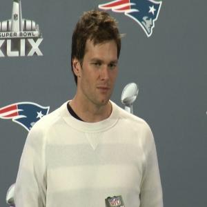 Brady on Head Cold: 'Feeling a Lot Better'