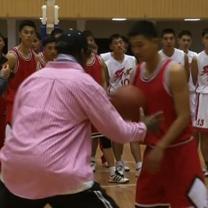 Raw: Rodman Coaches North Korean Players