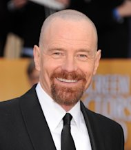Actor Bryan Cranston arrives at the 19th Annual Screen Actors Guild Awards at the Shrine Auditorium in Los Angeles on Sunday, Jan. 27, 2013. (Photo by Jordan Strauss/Invision/AP)