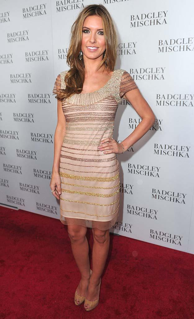 Audrina Patridge Badgley Mischka Opng