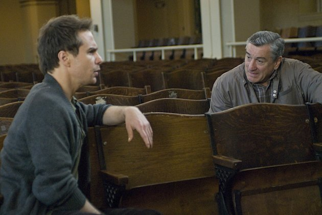 Everybody's Fine Production Photos 2009 Miramax Films Sam Rockwell Robert DeNiro