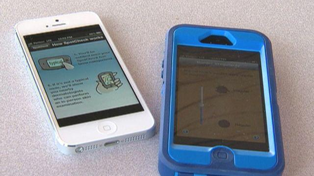 Skin cancer apps fail, toxic dishware, lung cancer jump