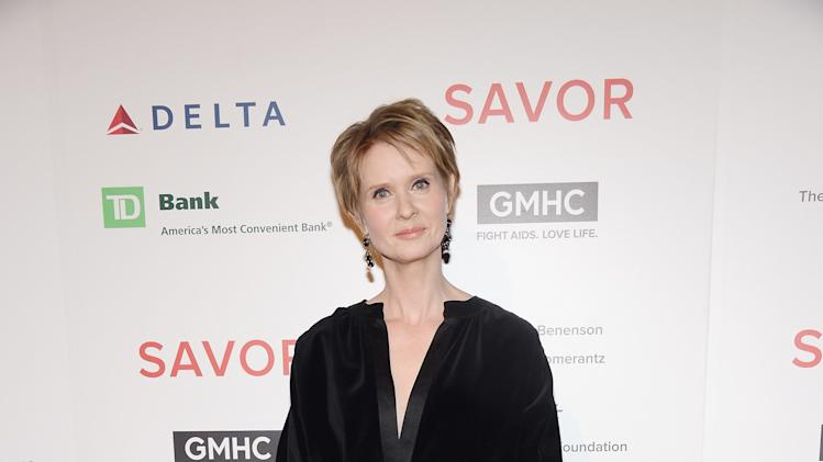 GMHC's 5th Annual SAVOR Dinner Hosted By Cynthia Nixon
