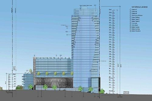 First Look at the 32-Story Tower That Could Be Headed Next to Capitol Records in Hollywood