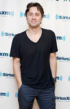 Zach Braff visits the SiriusXM Studios on May 21, 2013 -- Getty Premium