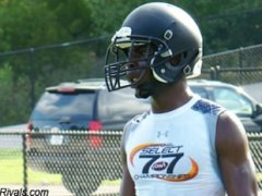 Spanish Fort wide receiver Deon Johnson — Rivals.com