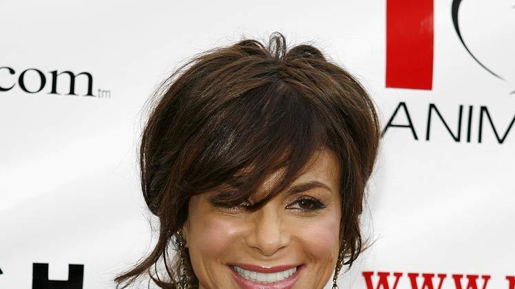 "Paula Abdul arrives at the Much Love Animal Rescue Presents The Second Annual ""Bow Wow WOW!"" at The Playboy Mansion on July 19, 2008 in Beverly Hills, California."