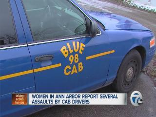 Women in Ann Arbor report assaults by cab drivers