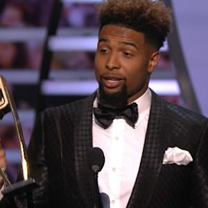 'NFL Honors': New York Giants wide receiver Odell Beckham wins Offensive Rookie of the Year award