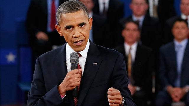 Obama Fires Himself Up in 2nd Debate