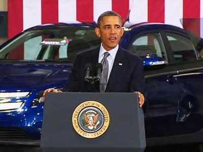 Obama Says U.S. Must Shift Cars, Trucks Off Oil