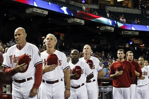 Kennedy, D-backs use unearned run to beat Dodgers