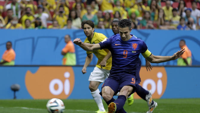 Netherlands beats host Brazil 3-0 to finish 3rd