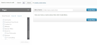 WordPress 3.6 Features – A Sneak Peek at the Latest Release image menus