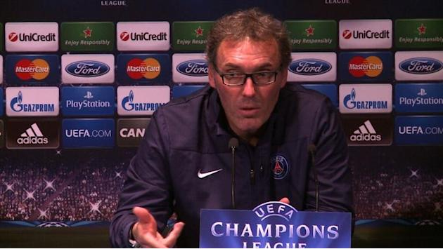 Paris SG ready for crucial Champions League group match