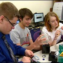 Local High School Students Send Problem-Solving Invention To Space
