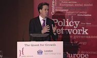 Miliband Urges Move To High-Skill Economy