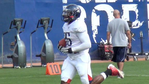 Arizona football practice - March 27